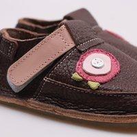 OUTLET - Pantofi Barefoot copii - Classic Buchet de flori