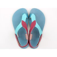 OUTLET - Sandale damă barefoot 'SOUL' -  Jazzberry