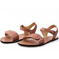 OUTLET - 'VIBE' barefoot women's sandals - Brown