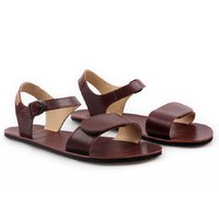 OUTLET - 'VIBE' barefoot women's sandals - Burgundy
