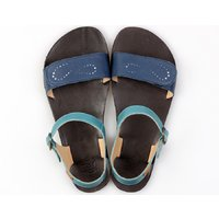 OUTLET - 'VIBE' barefoot women's sandals - Infinity Blue