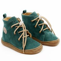 OUTLET Water-repellent leather boots - Beetle Pine 19-23 EU