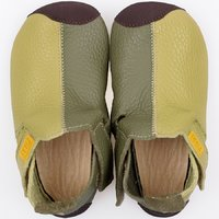 OUTLET Ziggy leather - Green Duo 19-23EU