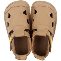 Sandale Barefoot din piele - NIDO Cappuccino