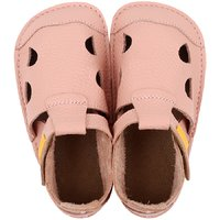 Sandale Barefoot din piele - NIDO Rosa