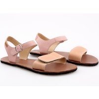 Sandale damă barefoot 'VIBE' - Peach
