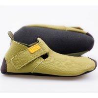 Soft soled shoes - Ziggy Green Duo 24-32EU