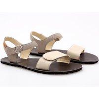 'VIBE' barefoot women's sandals - Cream